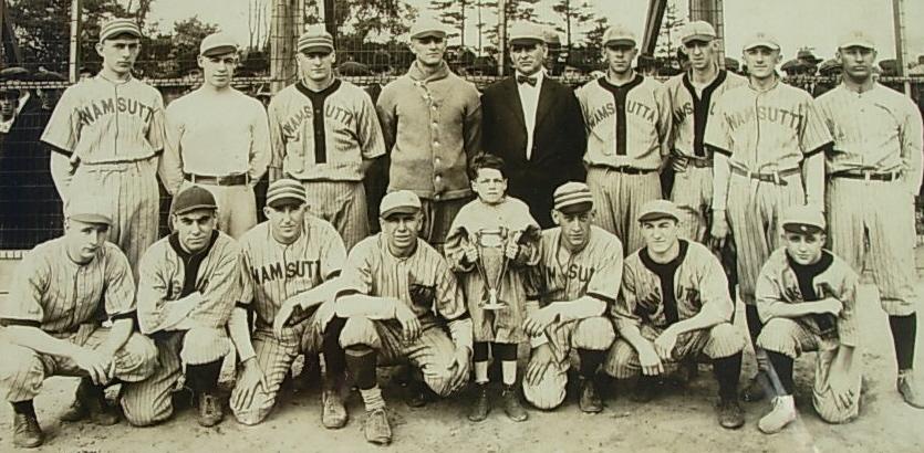 Wamsutta Baseball Club, ca. 1900
