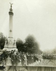 Memorial Day excercises, the Common, New Bedford MA [undated]. Courtesy New Bedford Whaling Museum