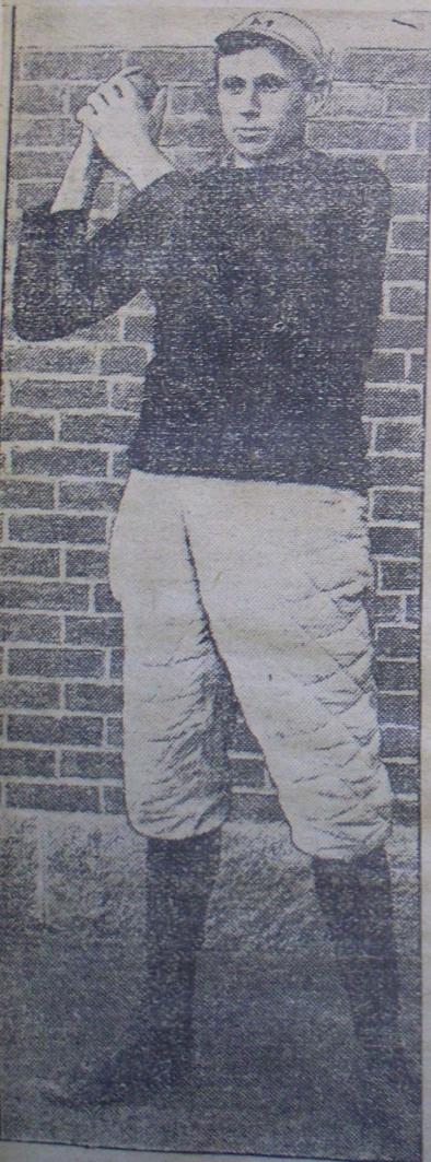 Oscar Tinkham, 1906